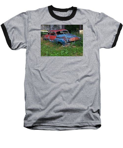 Abandoned 1950 Mercury Monteray Buick Baseball T-Shirt