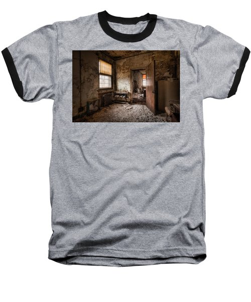 Abandoned Asylum - Haunting Images - What Once Was Baseball T-Shirt