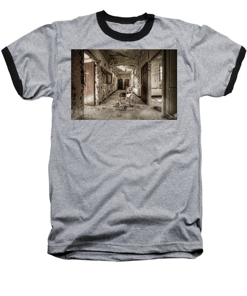 Abandoned Asylums - What Has Become Baseball T-Shirt