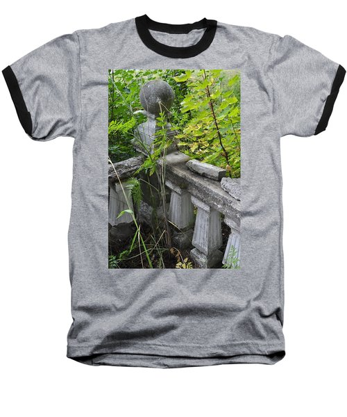 Baseball T-Shirt featuring the photograph Abandoned Cemetery by Cathy Mahnke