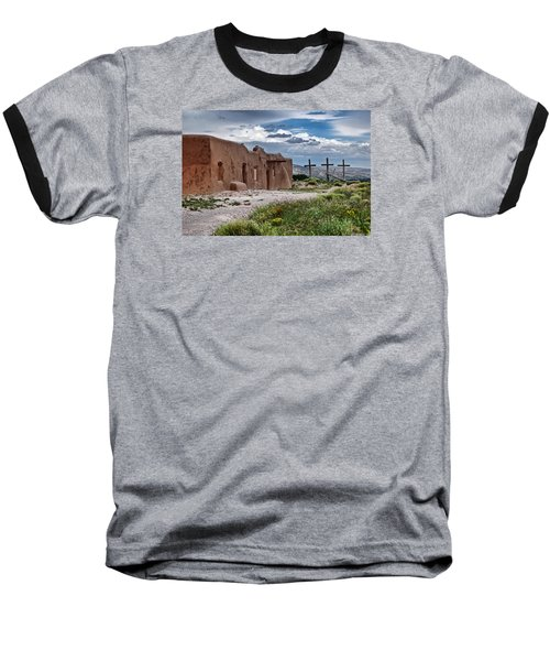 Abandoned Church In Abiquiu New Mexico Baseball T-Shirt