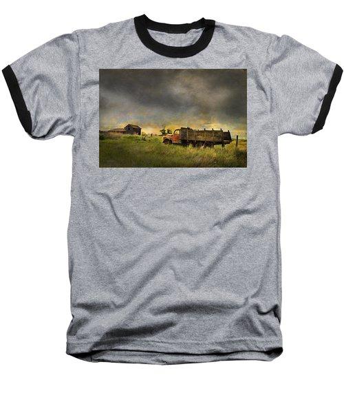 Abandoned Farm Truck Baseball T-Shirt