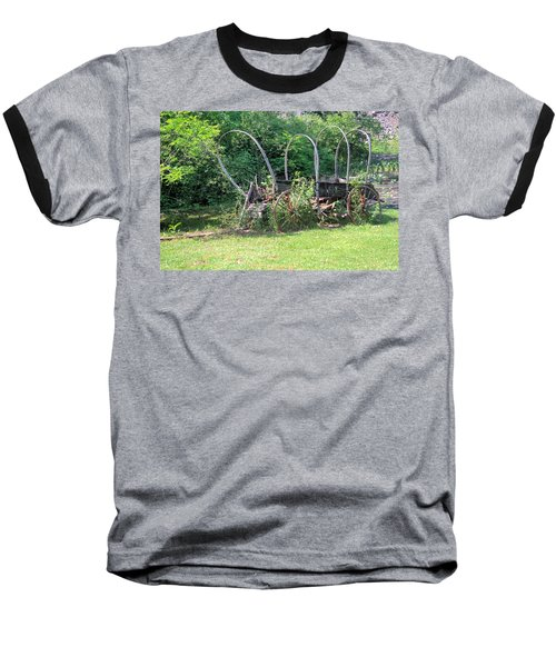 Baseball T-Shirt featuring the photograph Abandoned by Gordon Elwell