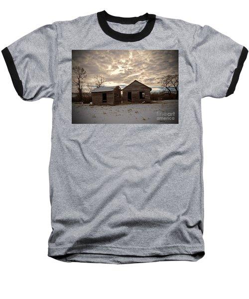 Abandoned History Baseball T-Shirt