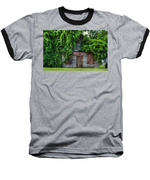 Baseball T-Shirt featuring the photograph Abandoned by Kathy Baccari