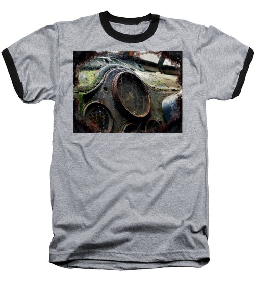Baseball T-Shirt featuring the photograph Abandoned by Micki Findlay