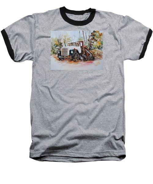 Abandoned Baseball T-Shirt by P Anthony Visco
