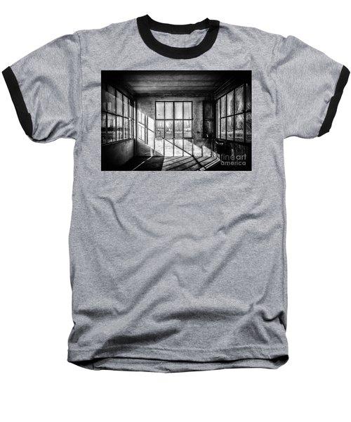 Abandoned Sugar Mill Baseball T-Shirt