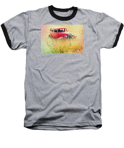 Abandoned Treasure Baseball T-Shirt by Leticia Latocki