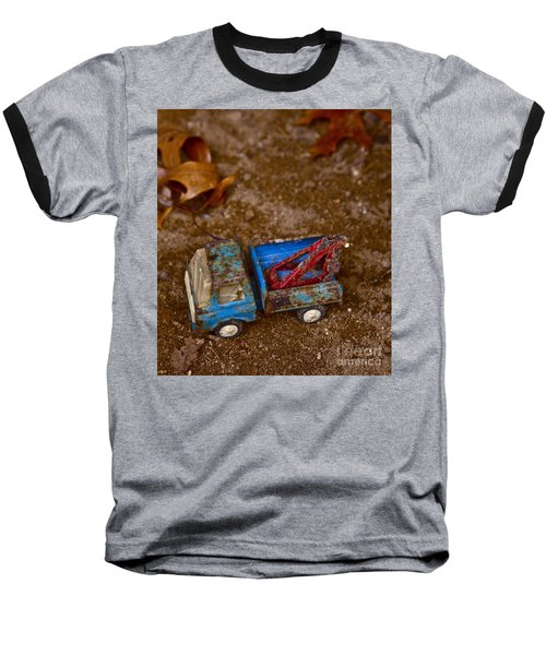 Abandoned Truck Baseball T-Shirt by Xn Tyler