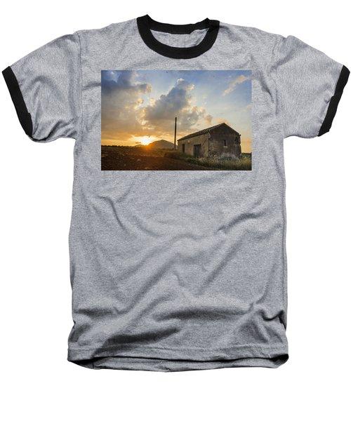 Abandoned Warehouse Baseball T-Shirt