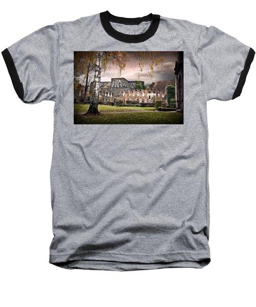Baseball T-Shirt featuring the photograph abbey ruins Villers la ville Belgium by Dirk Ercken