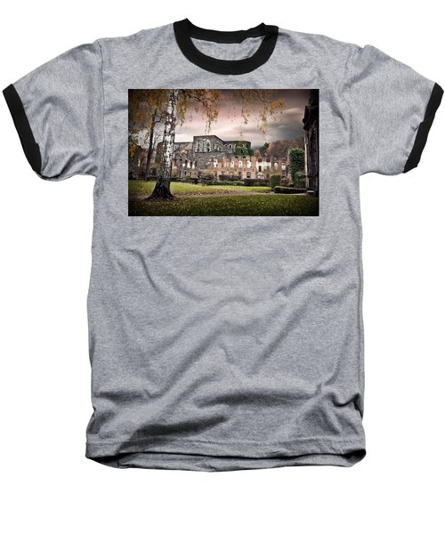 abbey ruins Villers la ville Belgium Baseball T-Shirt