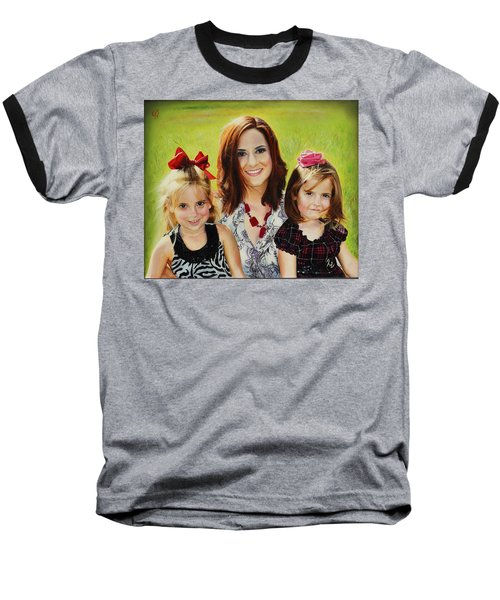 Abby And The Girls Baseball T-Shirt