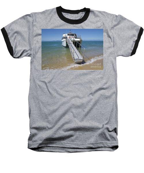 Abel Tasman Water Taxi Baseball T-Shirt