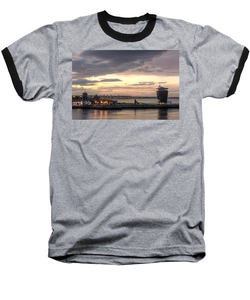 Aberdeen At Dusk Baseball T-Shirt