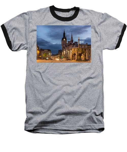 Aberdeen At Night Baseball T-Shirt