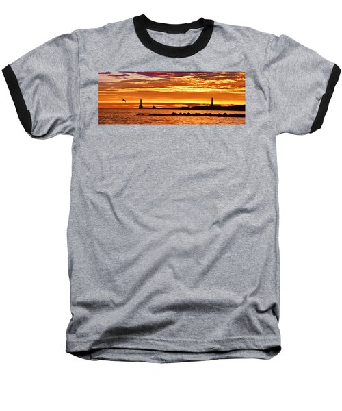 Aberdeen Sunrise Baseball T-Shirt