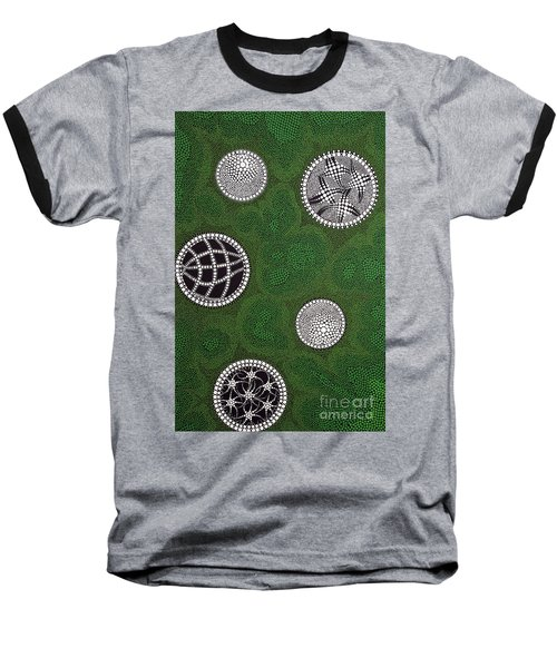 Baseball T-Shirt featuring the painting Sold  by Mariusz Czajkowski