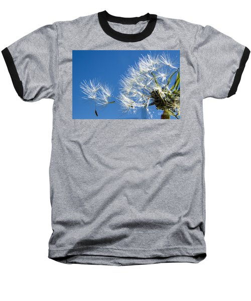 About To Leave - Dandelion Seeds Baseball T-Shirt