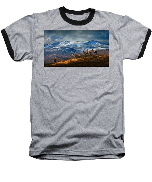 Above Strathglass Baseball T-Shirt