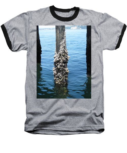 Above The Line Baseball T-Shirt by David Trotter