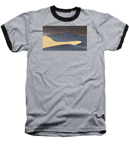 Above The Road Baseball T-Shirt by Chad Dutson