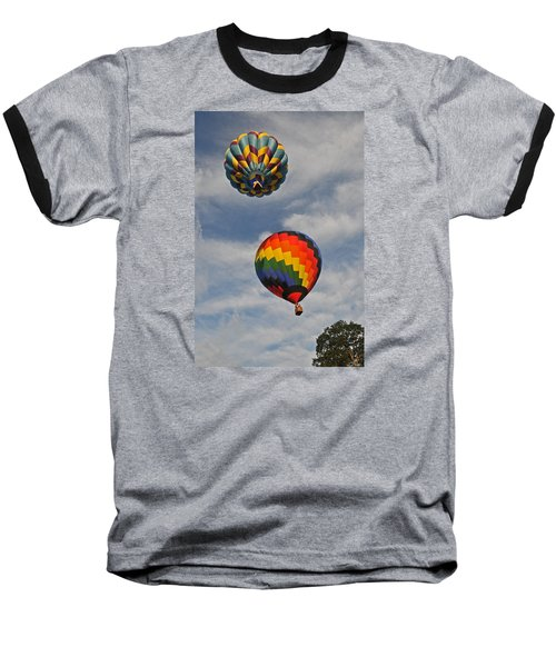 Baseball T-Shirt featuring the photograph Above The Treetop by Mike Martin