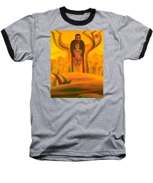 Abraham And Isaac Baseball T-Shirt