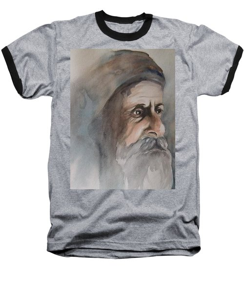 Abraham Baseball T-Shirt by Annemeet Hasidi- van der Leij