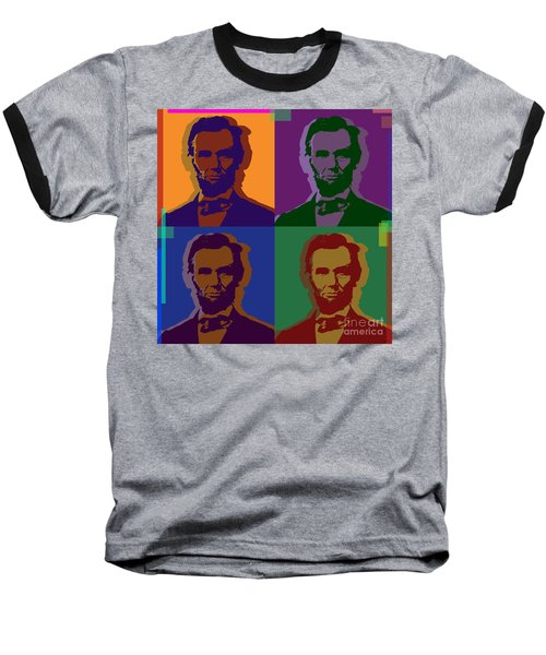 Abraham Lincoln Baseball T-Shirt