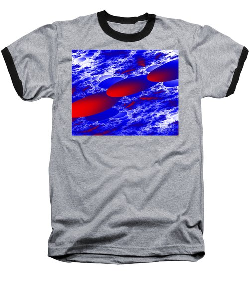 Baseball T-Shirt featuring the digital art Fly Away by Hai Pham