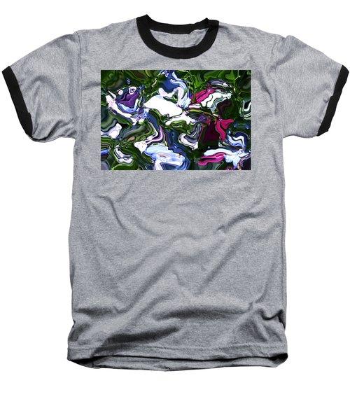 Baseball T-Shirt featuring the digital art Absent by Richard Thomas