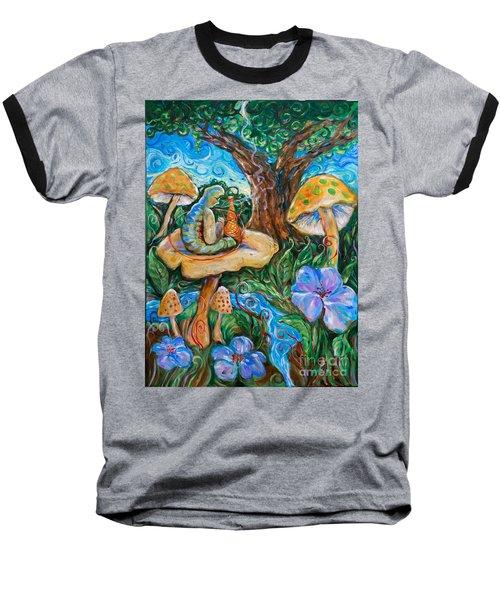 Absolem From Wonderland Baseball T-Shirt