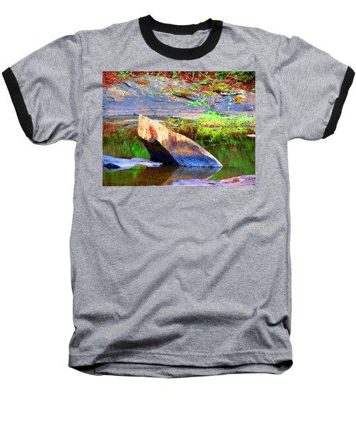 Abstact Rock Baseball T-Shirt