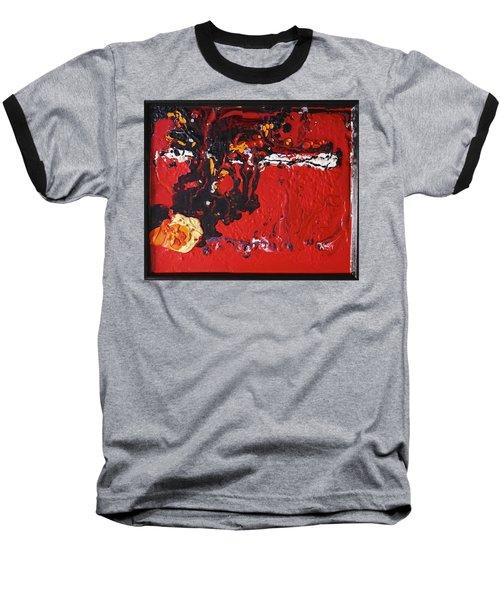Abstract 13 - Dragons Baseball T-Shirt