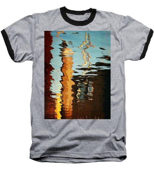Abstract 14 Baseball T-Shirt