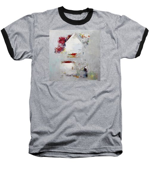 Abstract 2015 04 Baseball T-Shirt by Becky Kim