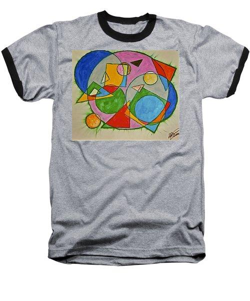 Abstract 89-001 Baseball T-Shirt