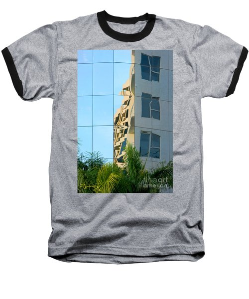 Baseball T-Shirt featuring the photograph Abstract Architectural Shapes by Mariarosa Rockefeller