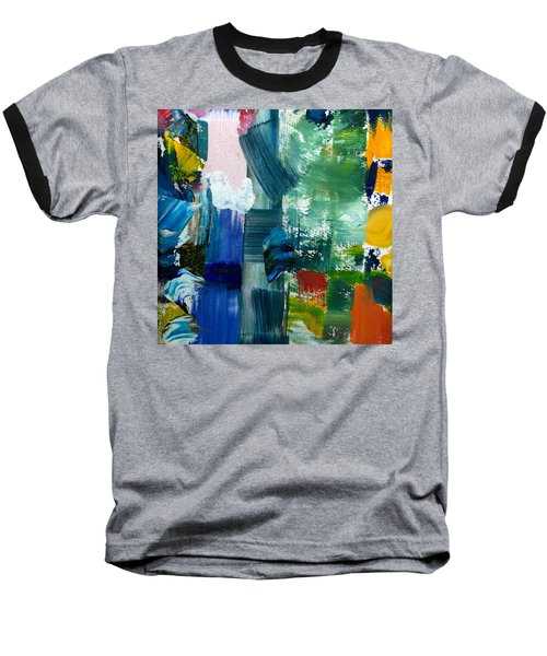 Abstract Color Relationships Lll Baseball T-Shirt