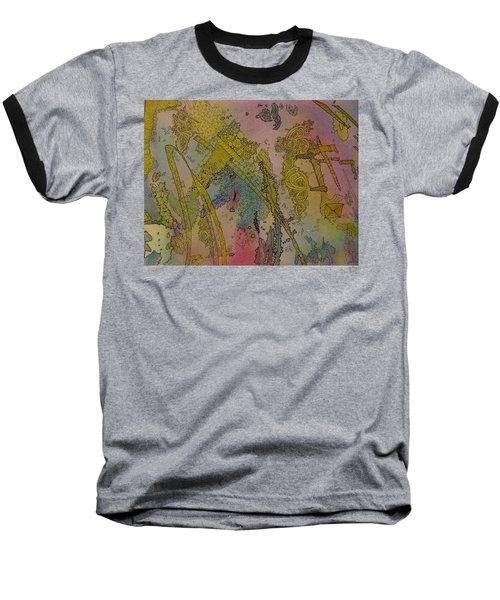 Abstract Doodle Baseball T-Shirt