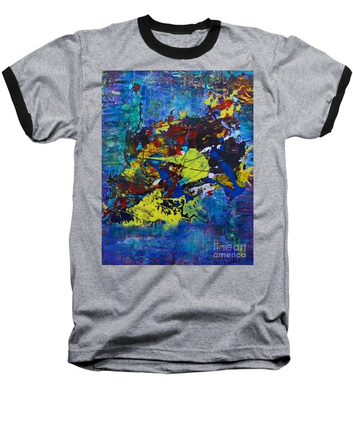Abstract Fish  Baseball T-Shirt
