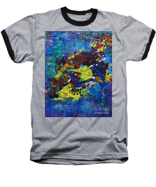 Abstract Fish  Baseball T-Shirt