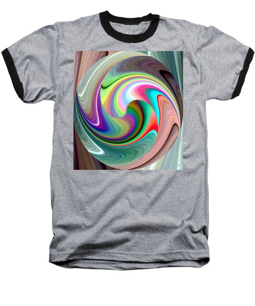 Abstract Fusion 241 Baseball T-Shirt