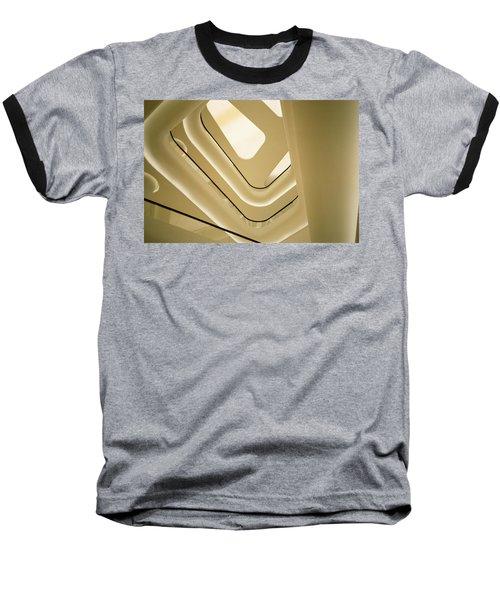 Abstract Geometry Baseball T-Shirt