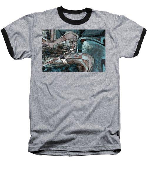 Abstract Graffiti 9 Baseball T-Shirt