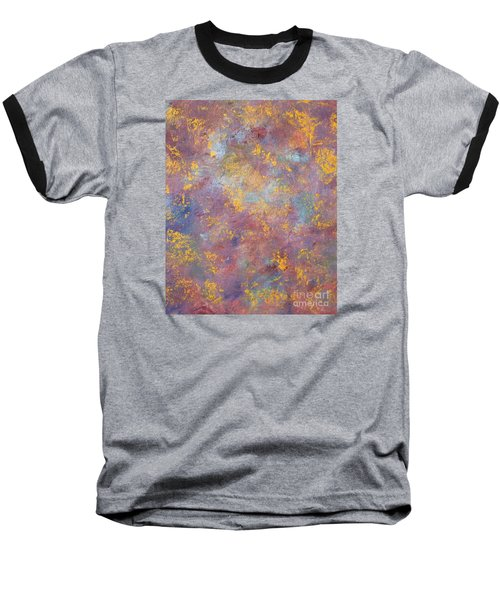 Abstract Impressions Baseball T-Shirt by Donna Dixon