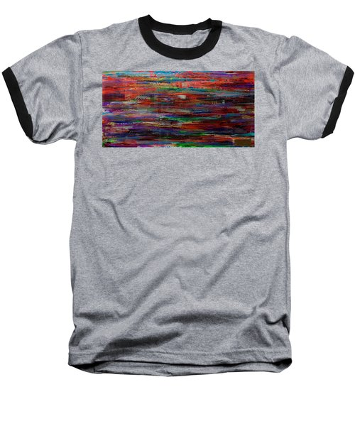 Abstract In Reflection Baseball T-Shirt