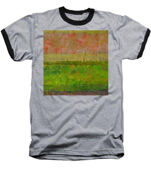 Abstract Landscape Series - Summer Fields Baseball T-Shirt